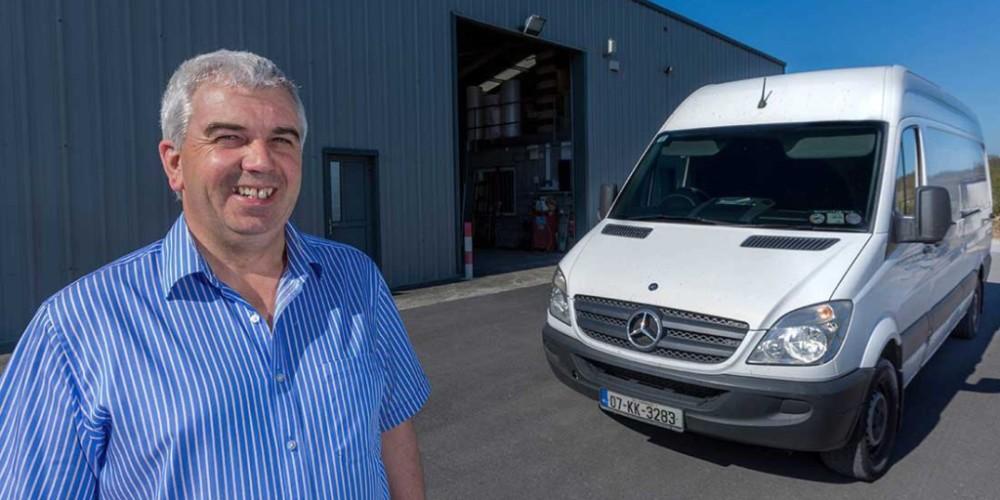 EU Vans, Removal company Ireland. John Keneally,